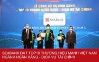 SeABank nằm trong Top 25 Thương hiệu tài chính dẫn đầu