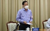 Chủ tịch TP.HCM Phan Văn Mãi: Mở quán ăn bán tại chỗ, vé số dạo sẽ giảm gánh nặng an sinh