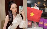 Sự thật người đẹp Ái Nhi thi Hoa hậu ở Ai Cập bị tạm giữ trang phục, nghi ngờ buôn lậu