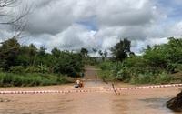Công nhân Điện lực Chư Sê (PC Gia Lai) cứu người bị nước lũ cuốn