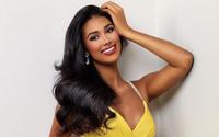 """Nhan sắc tân Hoa hậu Hoàn vũ Puerto Rico khiến Kim Duyên """"dè chừng"""" ở Miss Universe 2021"""