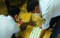 TP.HCM: Thu giữ 10.000 khẩu trang nghi giả mạo và 450 máy đo nồng độ oxy nhập lậu sau 10 ngày mật phục