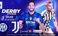 Xem Derby d'Italia giữa Inter Milan và Juventus trên kênh nào?