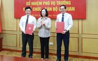 Ban Tổ chức Trung ương bổ nhiệm 2 Phó Vụ trưởng thông qua thi tuyển