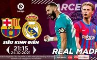 Xem El Clasico –  Siêu kinh điển Barcelona và Real Madrid trên kênh nào?