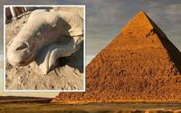 """Phát hiện 3 cổ vật đặc biệt tại """"Đại lộ Nhân sư"""" ở Ai Cập"""