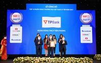 TPBank giữ vững vị trí trong Top 10 ngân hàng thương mại Việt Nam uy tín