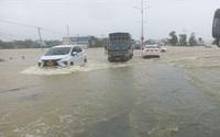 Quảng Nam: Mưa lớn kéo dài gây ngập nhiều nơi, học sinh phải nghỉ học