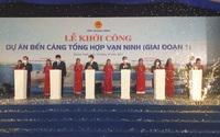 Quảng Ninh: Khởi công bến cảng tổng hợp Vạn Ninh gần 2.250 tỷ đồng