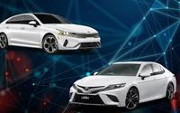 Kia K5 vừa ra mắt có gì để đấu với Toyota Camry?