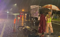 Gặp nạn lúc mưa lớn, vợ chồng tiểu thương tử vong