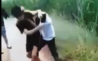 """Khánh Hòa: Chính quyền lên tiếng về video clip """"nam sinh đánh, dìm nữ sinh xuống nước"""""""