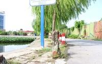 Sau phản ánh của Dân Việt, Hải Phòng chỉ đạo xây dựng lan can hồ điều hoà khu vực nội thành