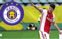 """Thực hư chuyện Hà Nội FC """"chơi lớn"""" mua cựu tiền đạo Ajax?"""