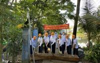 Agribank CN huyện Cờ Đỏ - Cần Thơ II xây dựng cầu kênh thủy lợi