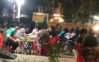 Chính quyền phường Tây Thạnh nói gì về việc hàng chục quán nhậu bán tại chỗ?