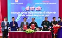 TT-Huế và Tập đoàn Viettel ký kết hợp tác chuyển đổi số toàn diện