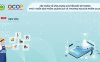 Ứng dụng chuyển đổi số trong phát triển sản phẩm, quảng bá và thương mại sản phẩm OCOP