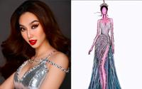 Thùy Tiên hé lộ bản vẽ trang phục bán kết Miss Grand International 2021