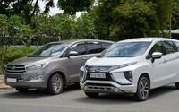 Cuộc đua doanh số xe 7 chỗ: Mitsubishi Xpander lật đổ Toyota Innova ngoạn mục