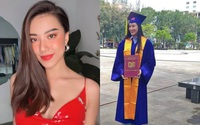 Á hậu Kim Duyên nói gì khi bị rò rỉ bảng điểm yếu, nợ môn vẫn tốt nghiệp đại học?