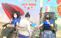 """1.200 đoàn viên, thanh niên tham gia hiến máu """"Tiếp sức đồng bào thắng dịch"""""""