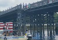 Bị tông sụp mố, cầu thép An Phú Đông có trễ hẹn?