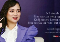 """Nữ startup vươn ra thế giới bằng cây cần tây: """"Chế biến sâu để không còn phải giải cứu nông sản"""""""