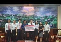 Bảo hiểm Agribank chung tay ủng hộ đồng bào miền Trung bị ảnh hưởng do mưa lũ