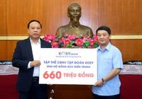 Người Kosy quyên góp 660 triệu đồng hướng về miền Trung ruột thịt