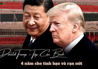 4 năm tình bạn Donald Trump - Tập Cận Bình: Từ thân thiết đến rạn nứt