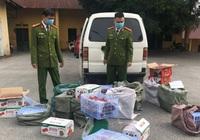 Lạng Sơn: Bắt giữ hơn 300kg quả hồng chế biến nhập lậu