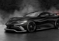 Naran hyper-coupe - siêu xe lấy cảm hứng từ Vantage GT3