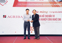 Agribank được vinh danh 2 giải thưởng Ngân hàng Việt Nam tiêu biểu năm 2020