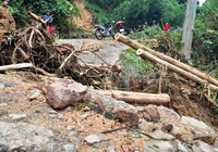 Bình Định cảnh báo xuất hiện lũ quét, sạt lở đất nhiều nơi
