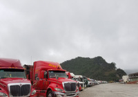 Còn 2.300 xe hàng nông sản nằm chờ xuất khẩu tại Lạng Sơn