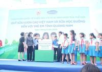 Hơn 34.000 học sinh Quảng Nam uống sữa miễn phí trong ngày 1/6