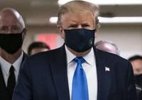 Tổng thống Mỹ Donald Trump lần đầu tiên công khai đeo khẩu trang