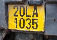 Xe kinh doanh vận tải phải đổi biển số sang màu vàng
