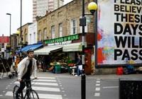 Nền kinh tế Anh sụt giảm nặng nề nhất thế giới