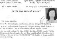 Truy nã trùm buôn gỗ đất Cảng Nguyễn Thị Mai