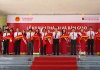 Khánh thành trường học ở Quảng Nam, công trình được Agribank tài trợ 10 tỷ đồng