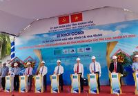 Khởi công đập ngăn mặn 759 tỷ đồng trên sông Cái Nha Trang