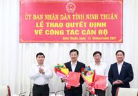 Ninh Thuận bổ nhiệm 2 tân giám đốc sở