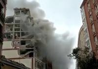 Clip: Kinh hoàng vụ nổ lớn rung chuyển đường phố Toledo ở trung tâm Madrid (Tây Ban Nha)