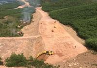 Cao tốc Cam Lộ- La Sơn bị ảnh hưởng tiến độ vì thiếu 2 triệu m3 đất san lấp