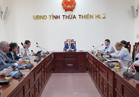 Tập đoàn năng lượng lớn của Italia khảo sát đầu tư tại Thừa Thiên Huế