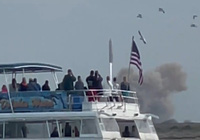 Clip: Tàu vũ trụ Starship do SpaceX chế tạo phát nổ sau khi hạ cánh