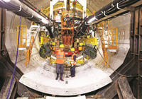 Robot đào hầm tuyến đường sắt Nhổn - ga Hà Nội có gì đặc biệt?