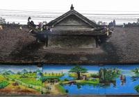 Đình làng cổ gần 200 năm tuổi tại Vĩnh Phúc có đẹp hơn nhờ bức tranh này?
